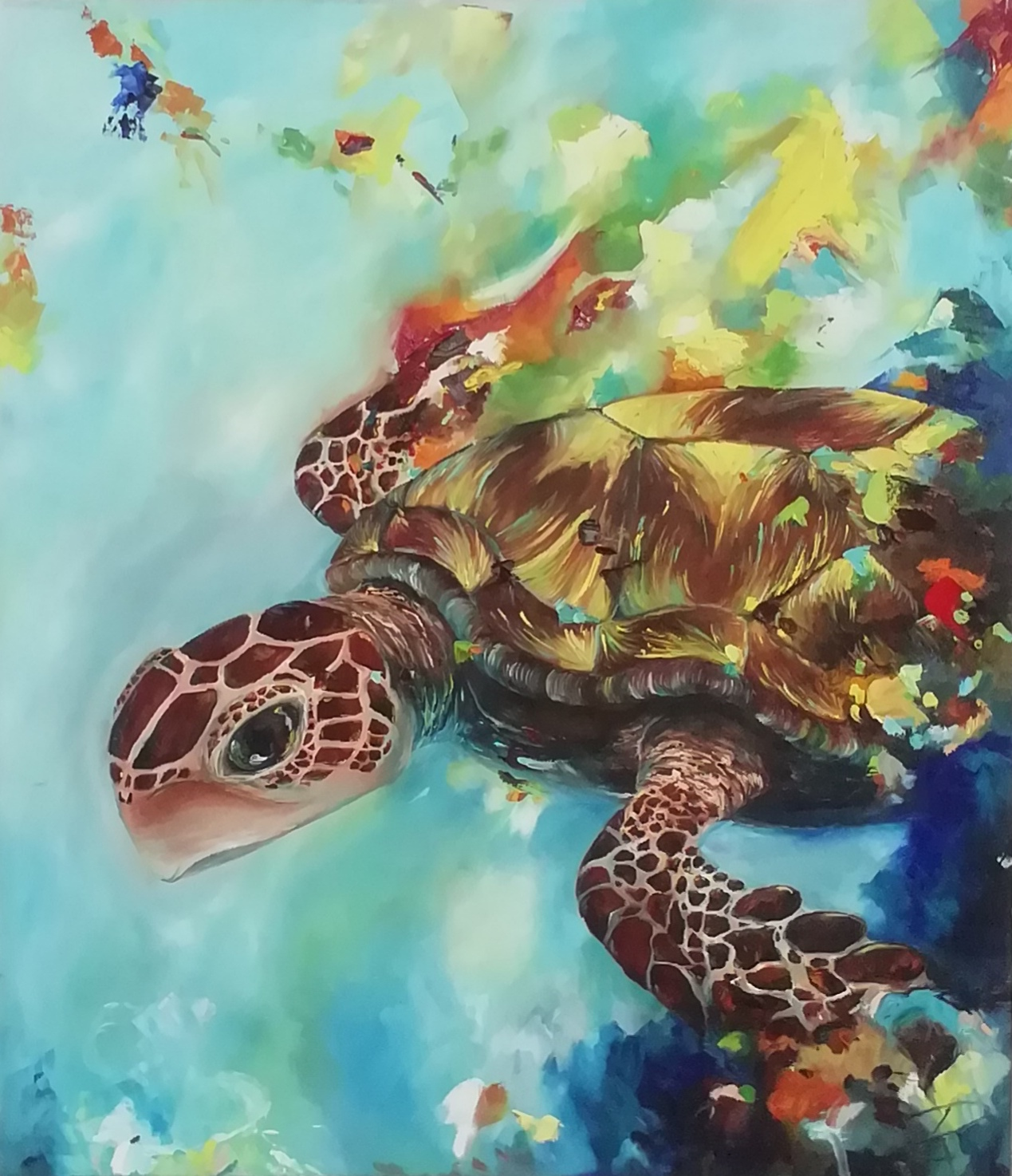 Colourful Turtle