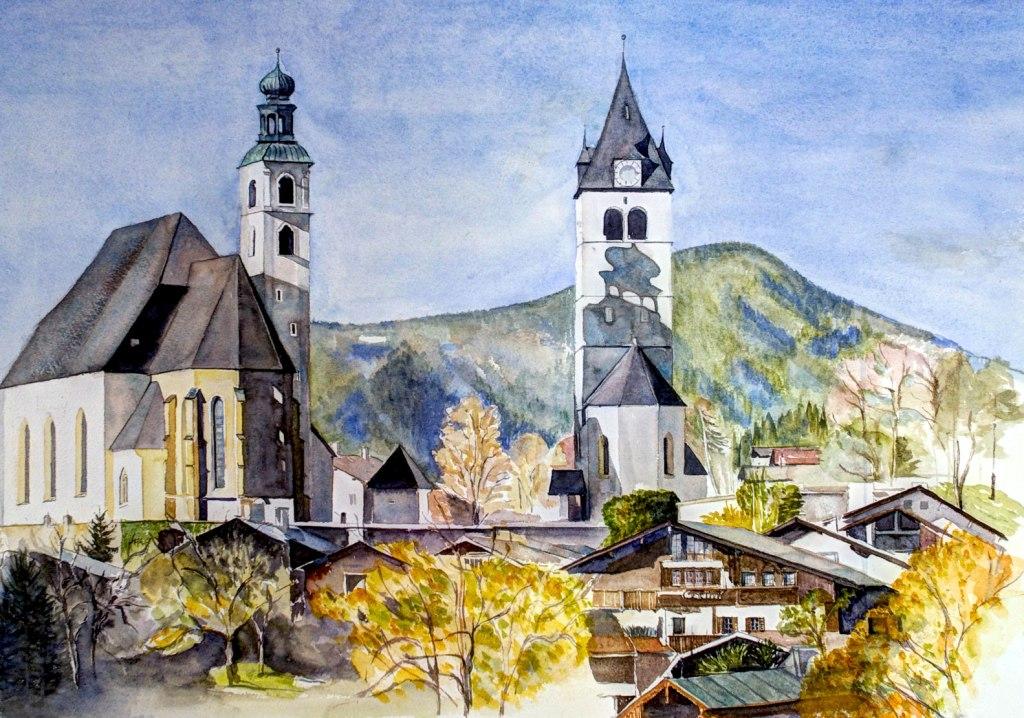 Kirchen in Kitzbühel