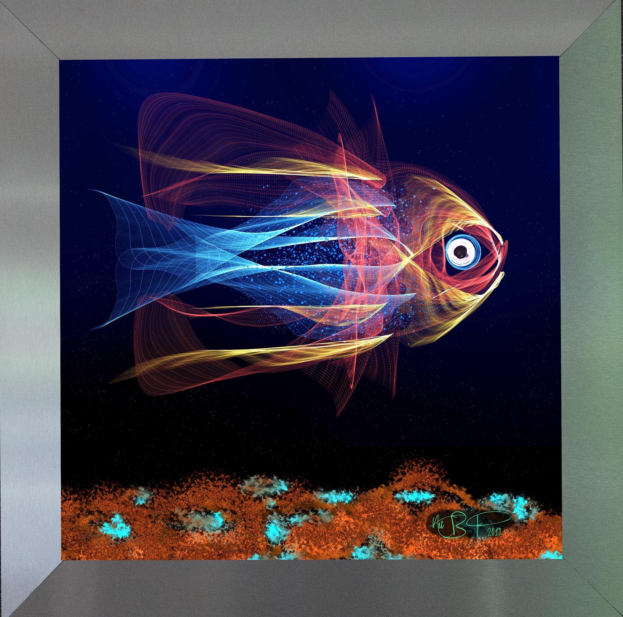 Leuchtender Fisch