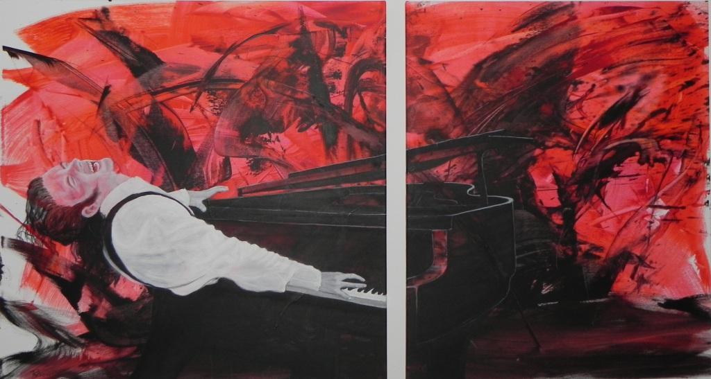 Christian Steinbach 180 cm x 100 cm Öl