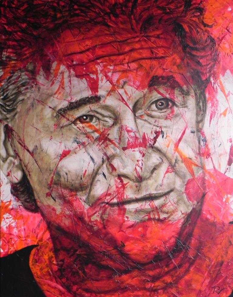 Reinhard Fenrich 100 cm x 80 cm Acry